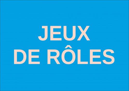 jeux roles
