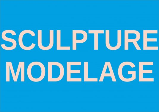 sculpture modelage