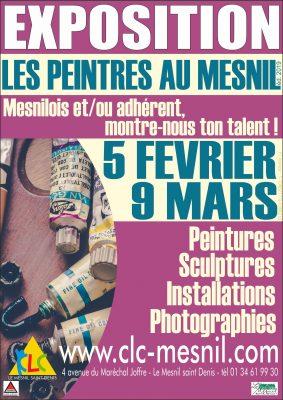 Exposition - les peintres au Mesnil éd. 2019