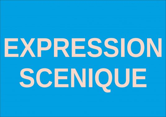 expression scenique